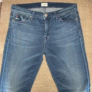 EUC Hudson Tilda Cuffed Straight Jeans Size 29.